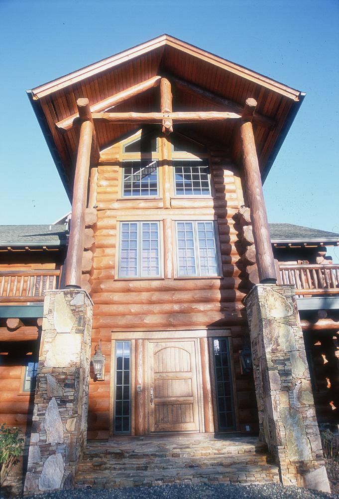 A North Carolina Log Home Designed With A Sense Of