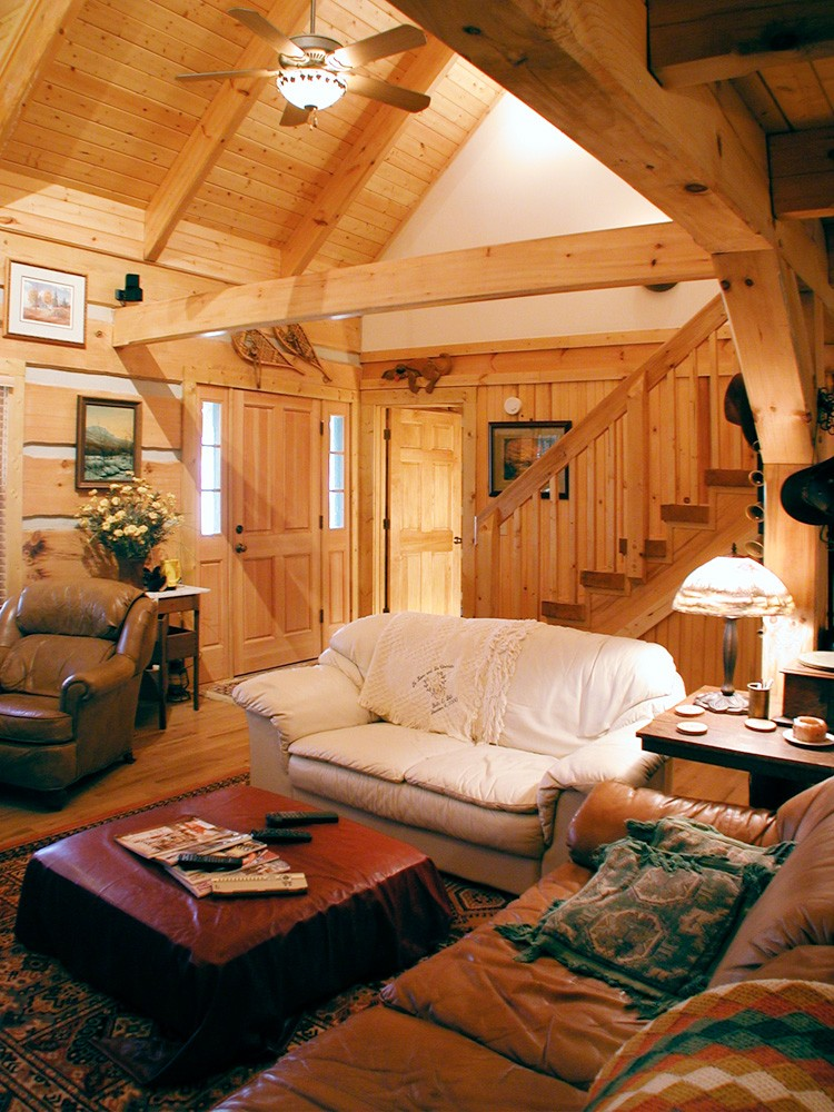 Log home builders in pa hd wallpapers log homes turnkey for Cost of building a house in pa