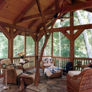 natural elements enhance natural environment of nc mountain homes