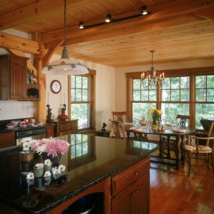 asheville log cabin builder, asheville timber framing, NC Insulated Structural Panels