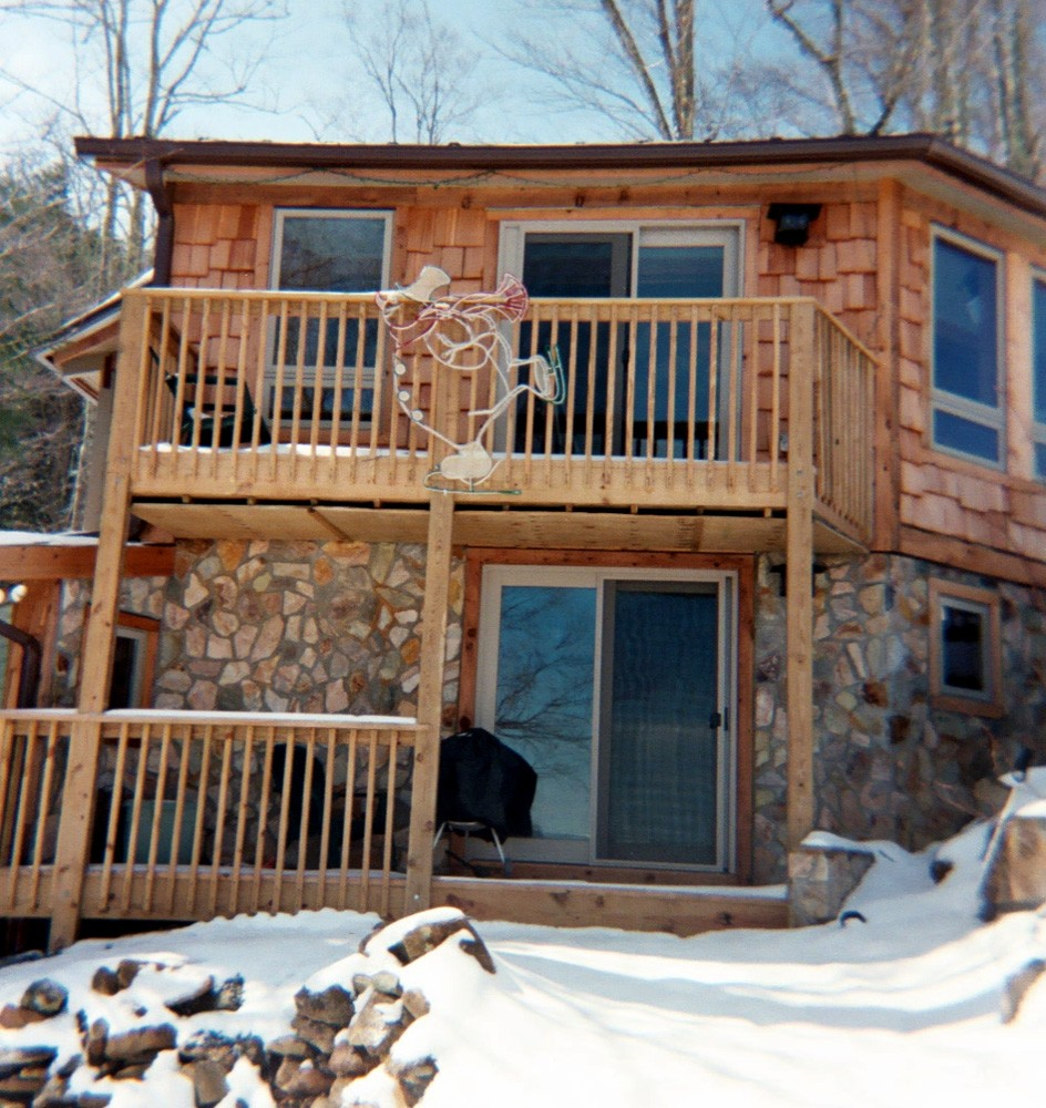 A major remodel for a ski home near Banner Elk, NC