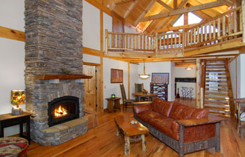 Hearthstone Timber Frame Homes | Log Homes NC