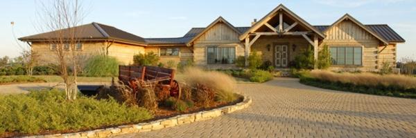 Hearthstone Homes Live Edge Log Home Design in Alabama