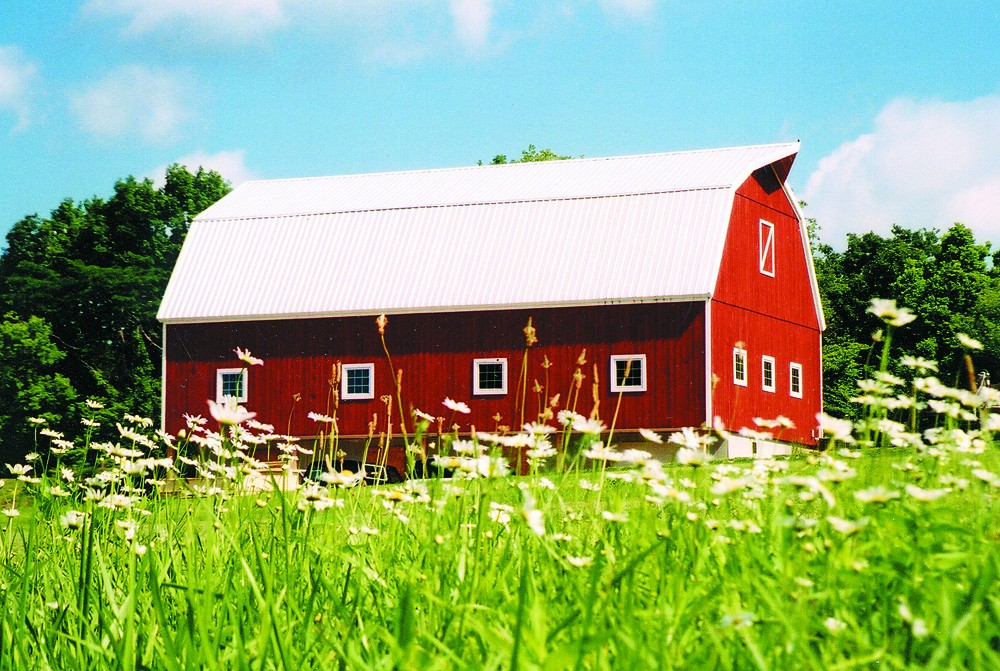 Timber Frame Barn by Hearthstone