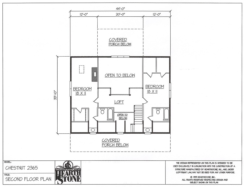 hearthstone home planlog home kits