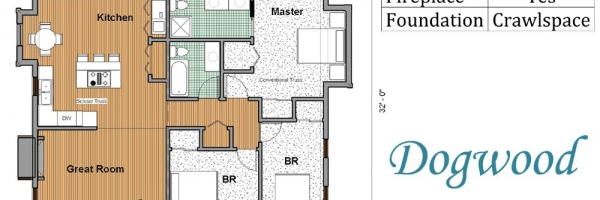vacation home floor plan
