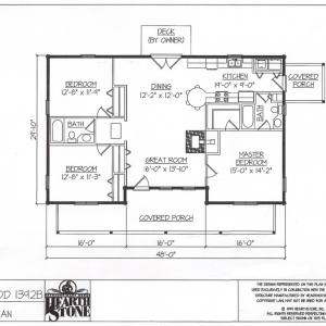 Log Home Floor Plan Hearthstone Homes