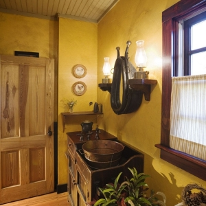 chapel hill log cabin remodel