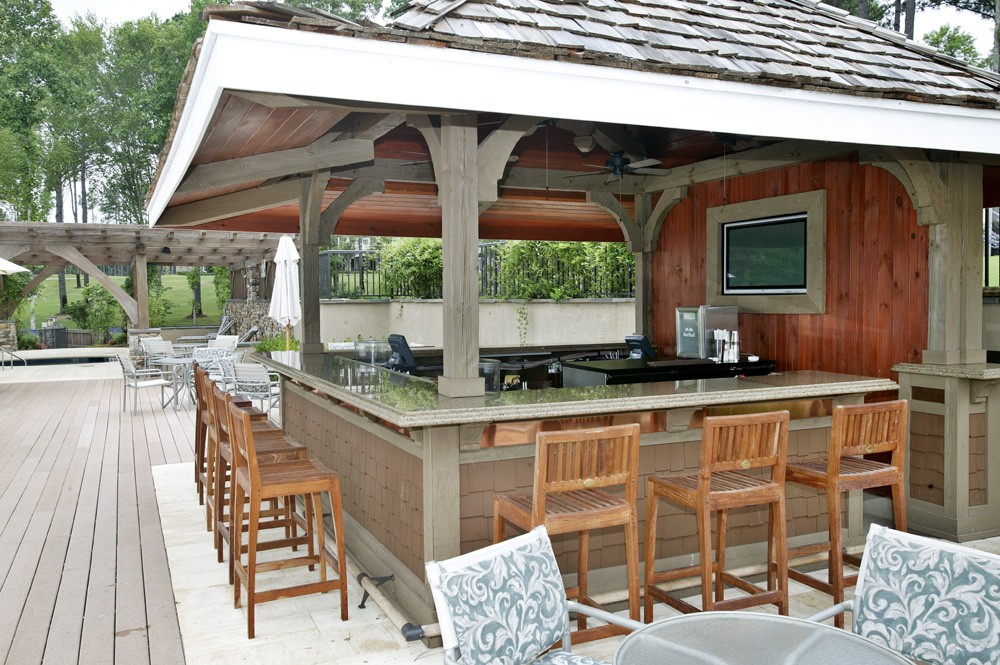 tennessee timber frame home