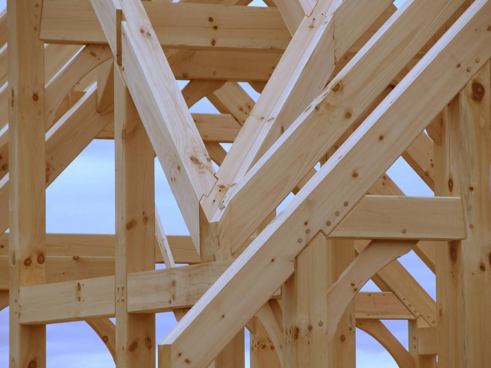 Timber Frame Hybrid Nc Mountain Construction