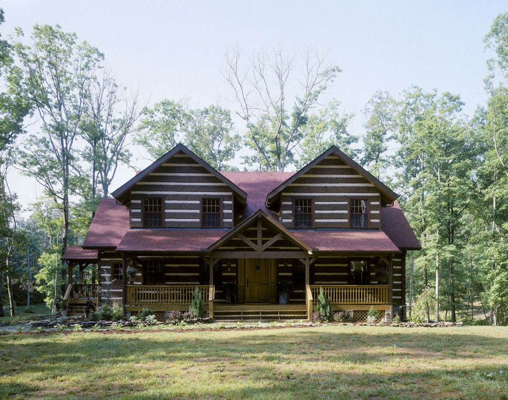 charlotte log home builder