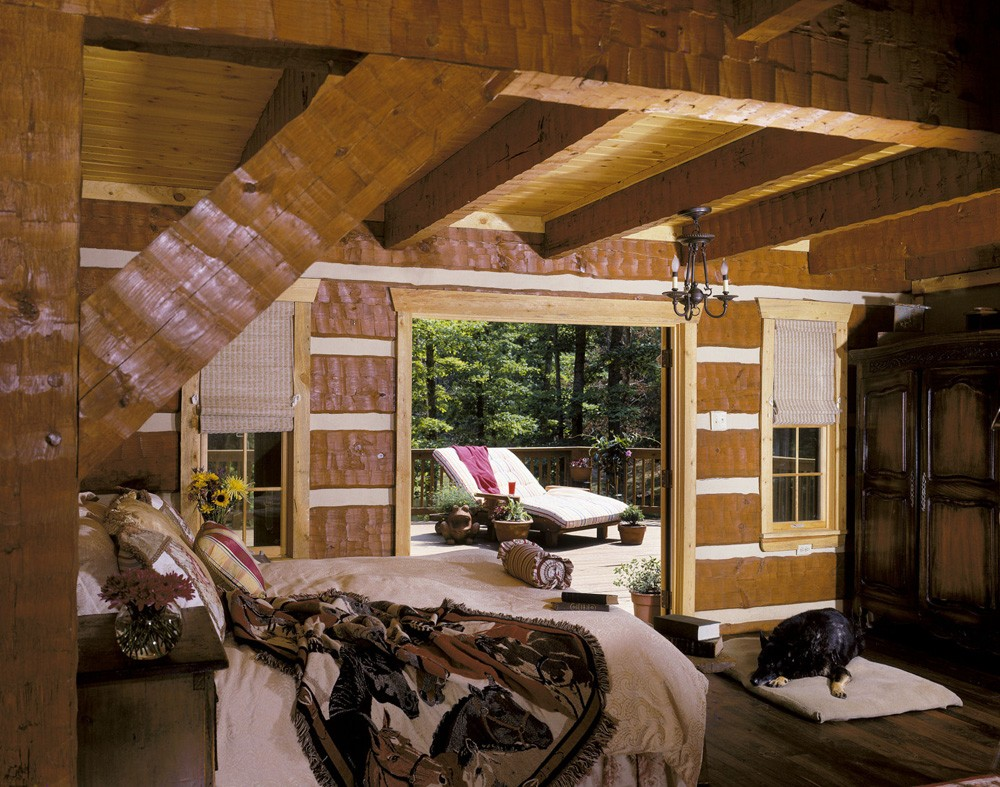 log homes nc,