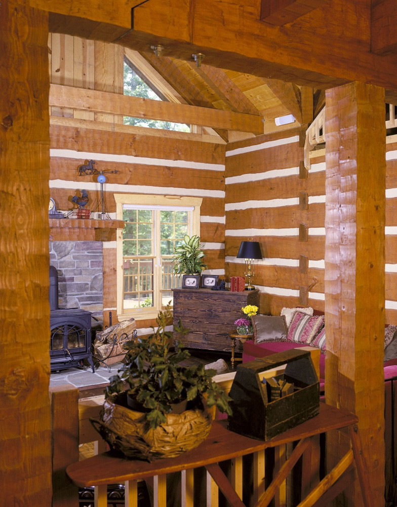 asheville log cabin builder