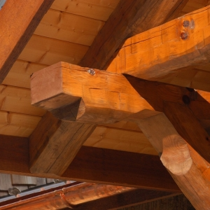 unique timber design and top quality production mountain construction