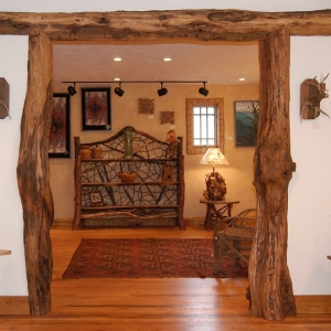 creative accents to make your mountain home unique