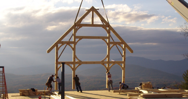 Hearthstone of Boone Timber Frame Subcontract Services