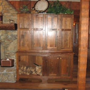 Log Timber Frame Hybrid Estate Home