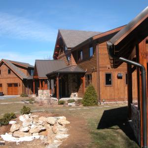 Outdoor Kitchen, main home, garage/guest suite