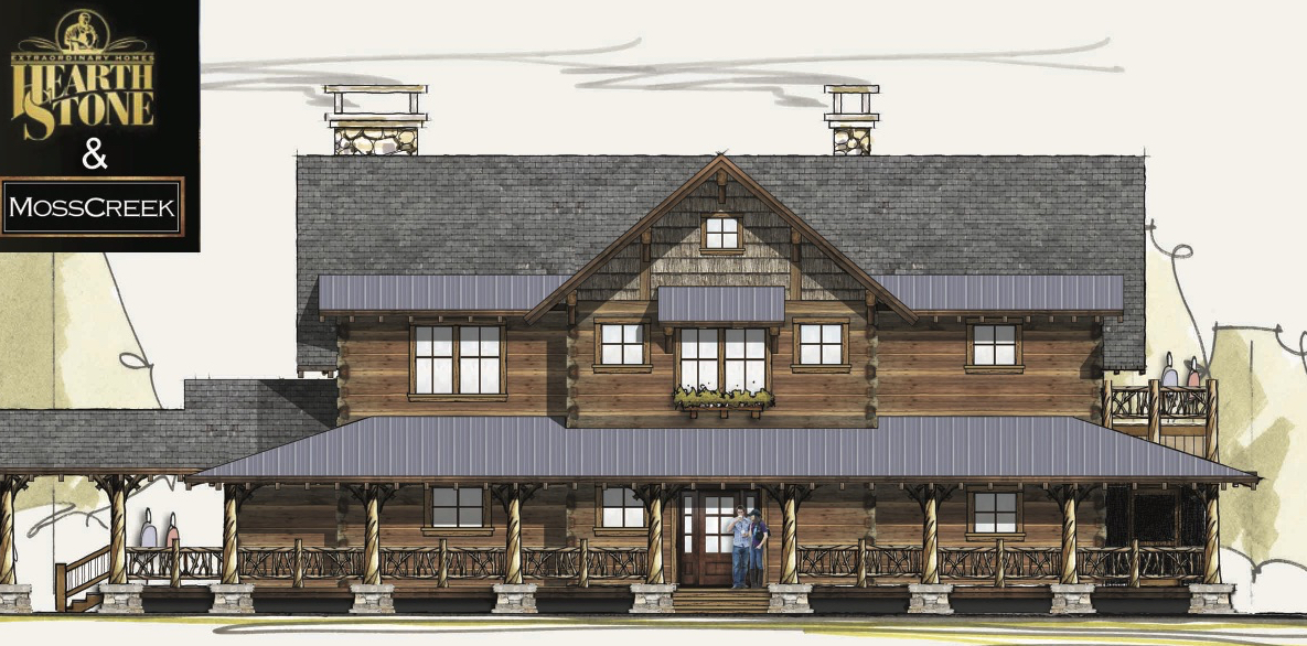 Hearthstone Standard Home Plans Log Cabin Kits Nc