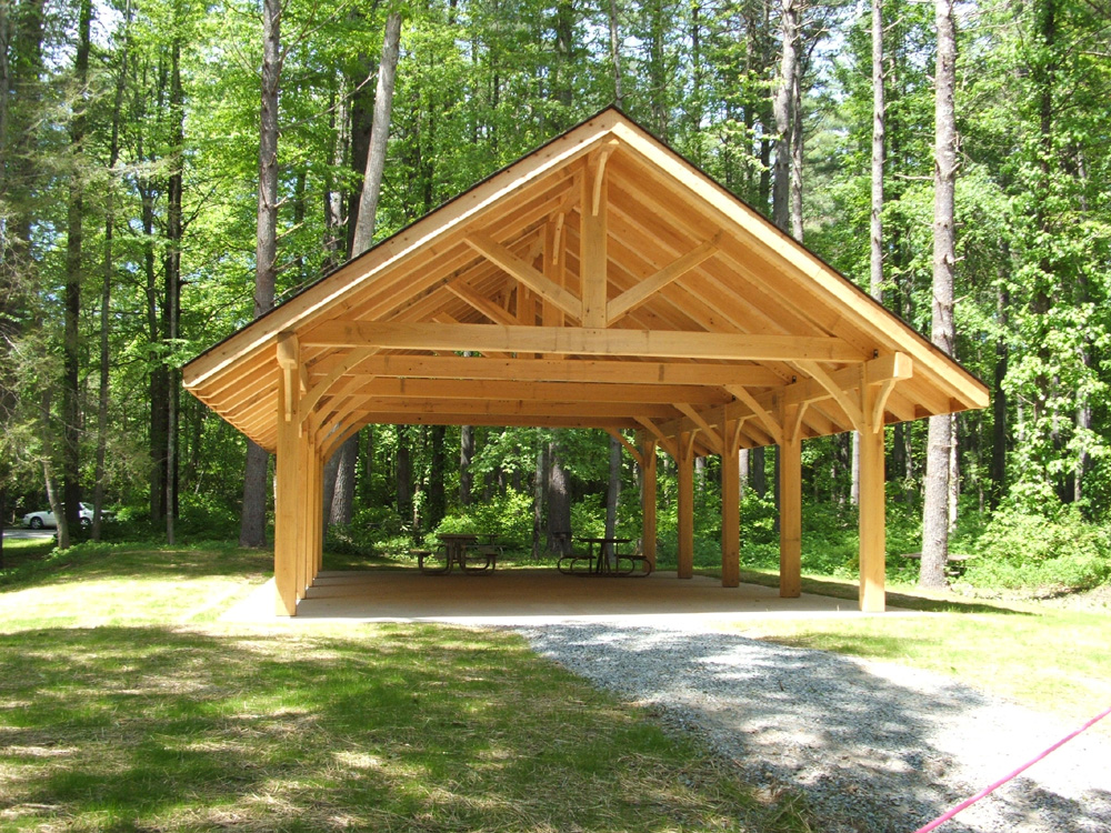 Timber Frame Education Shelter