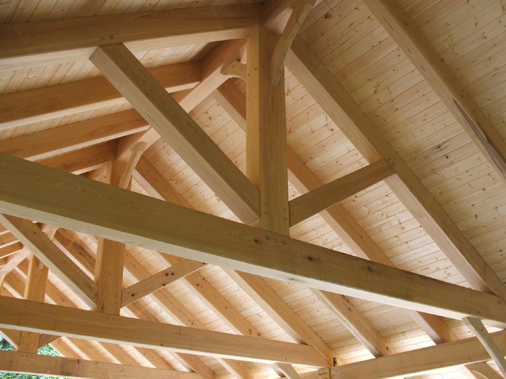Timber Frame Picnic Shelter