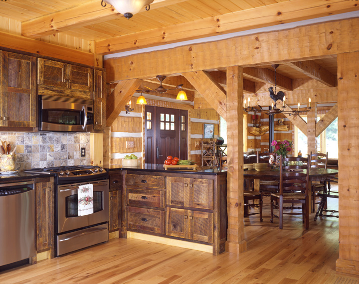 Log Homes North Carolina