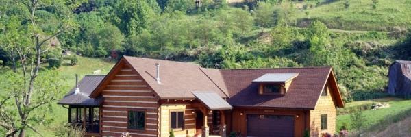 North Carolina Home builder uses Log and Timber Frame design to build custom home