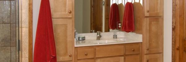 contemporary home design master bath west jefferson, nc