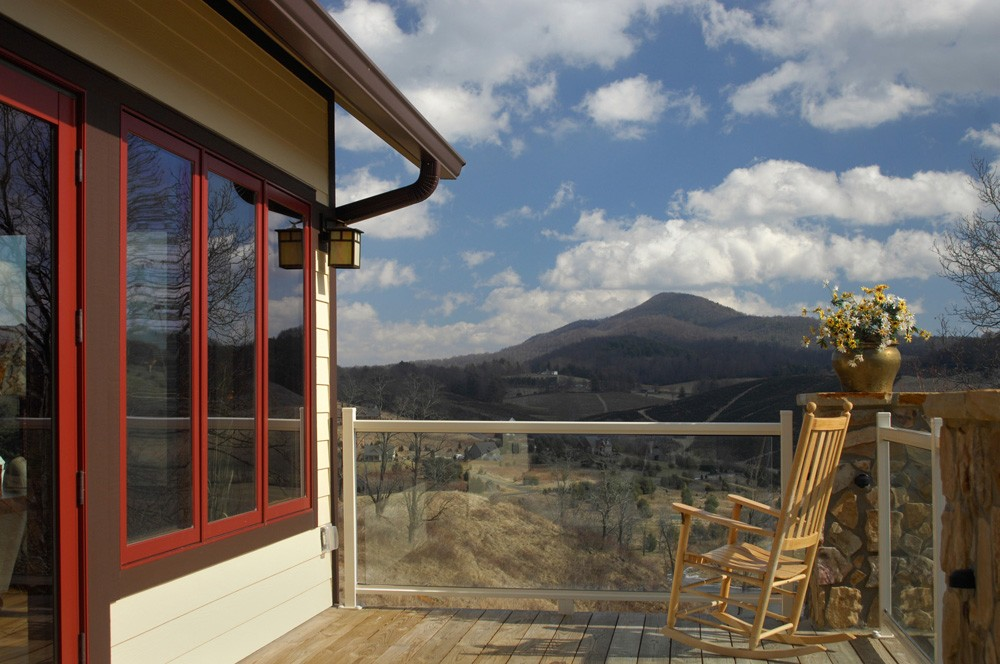 Ashe county contemporary home builder