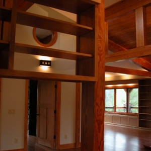 Timber Trace/SIP Home in Valle Crucis