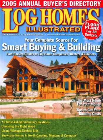 Black Mountain North Carolina Log Home