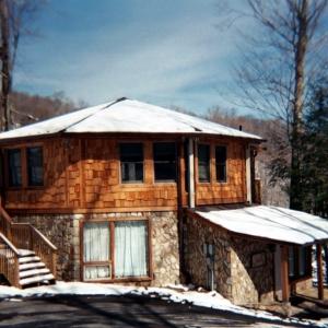 A major remodel for a ski home near Banner Elk, NC