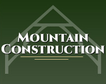 Mountain Construction Logo