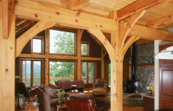 Hearthstone Timber Frame Homes Log Homes Nc