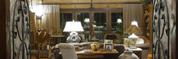Hearthstone Homes Live Edge Log Home Design