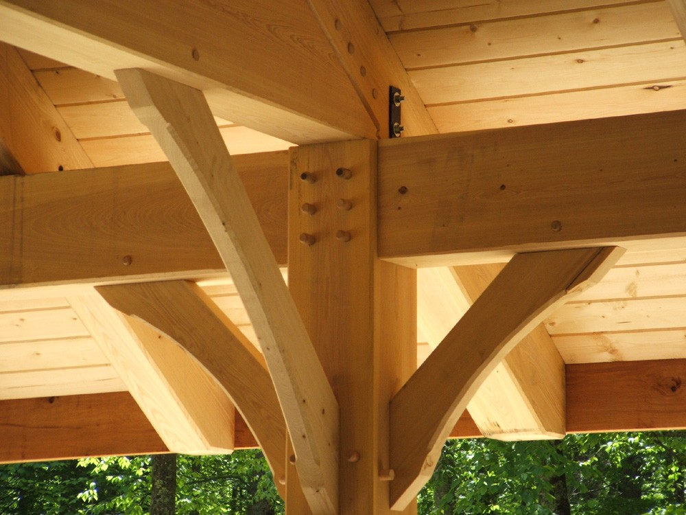 timber frame house
