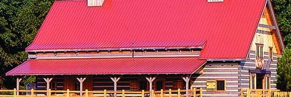 Log Barn by Hearthstone