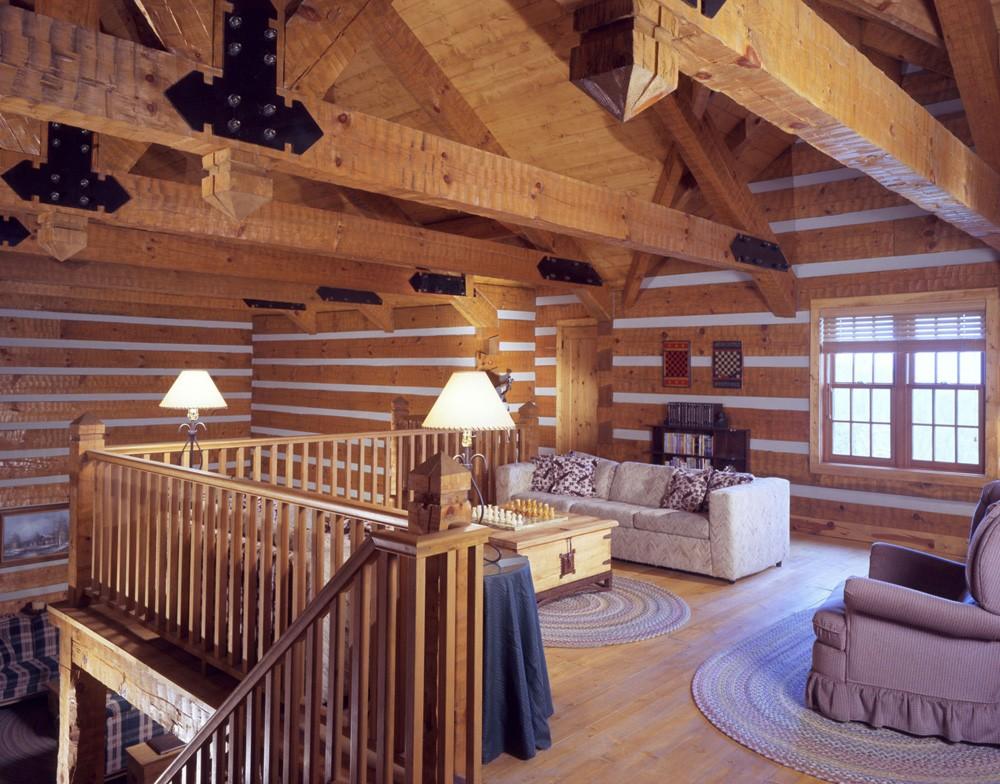 hearthstone homes wood beams