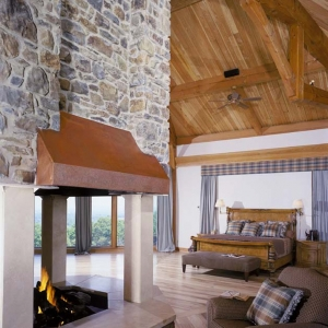 home plans,hickory log home