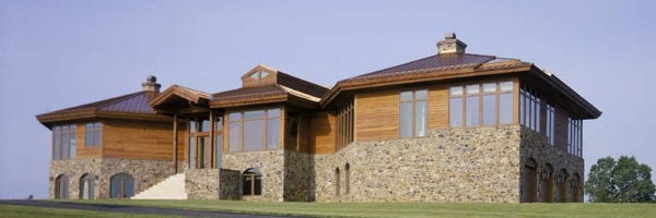 custom timber frame house