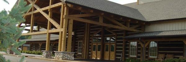 hearthstone log home
