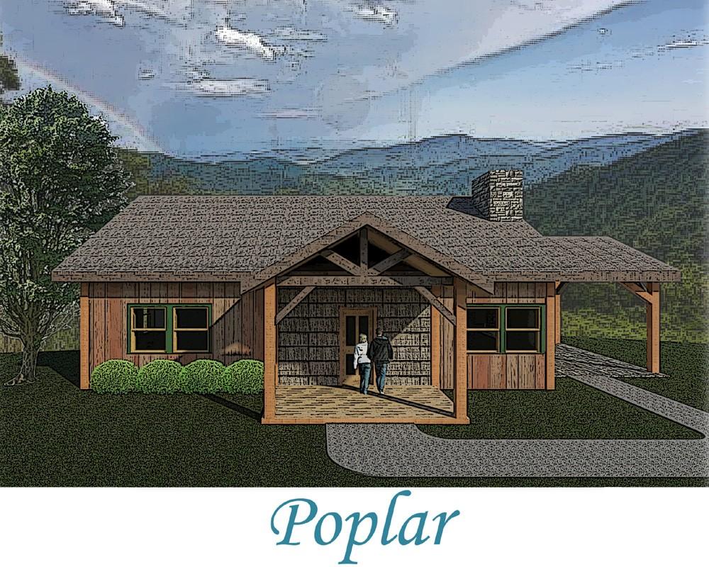 blue ridge mountain log cabin