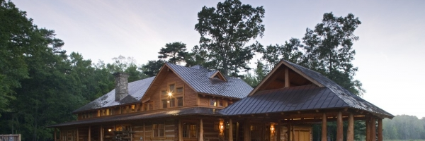 cypress log porch