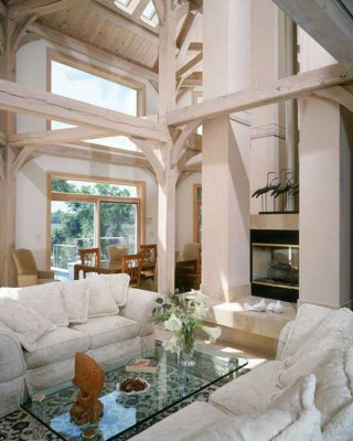 timber frame and SIP home