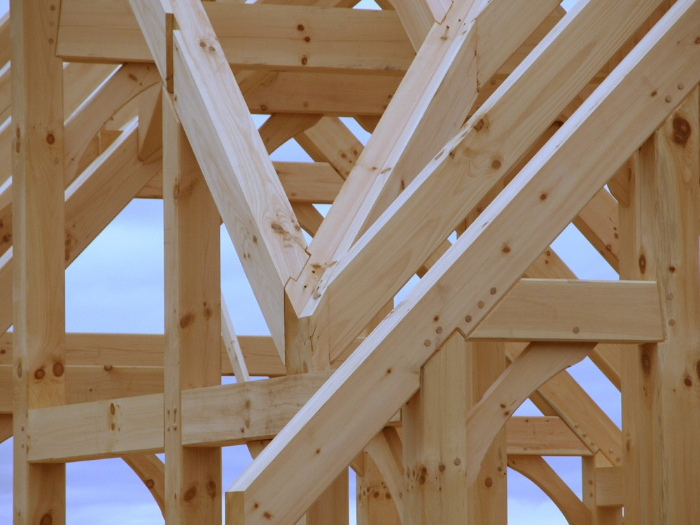 Timber Framing, North Carolina Custom Home Builders
