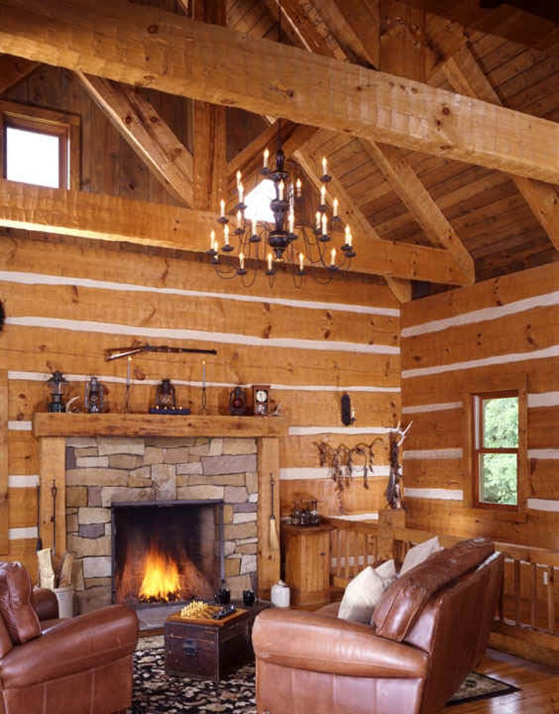 hearthstone log and timber home builders in tennessee