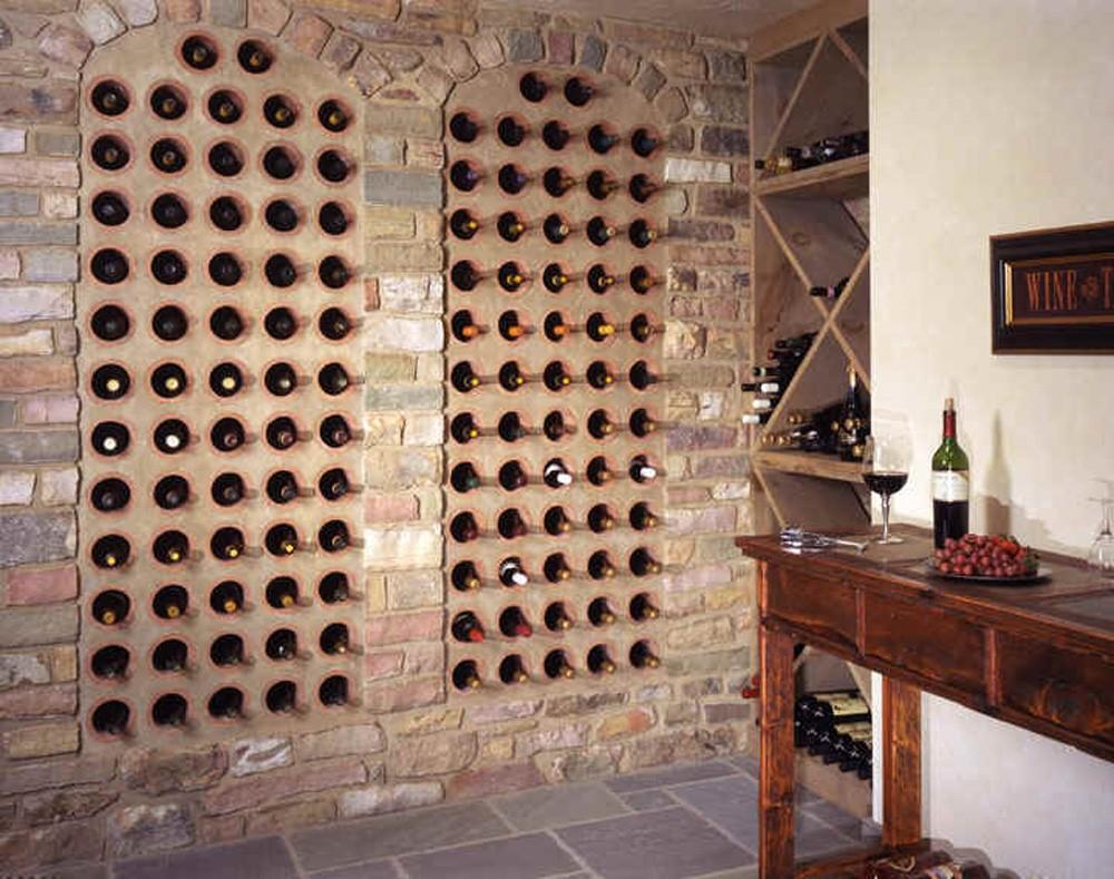 stone wine cellar construction construction