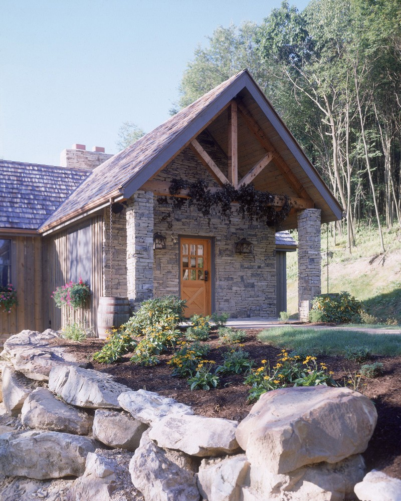 asheville lodge style home