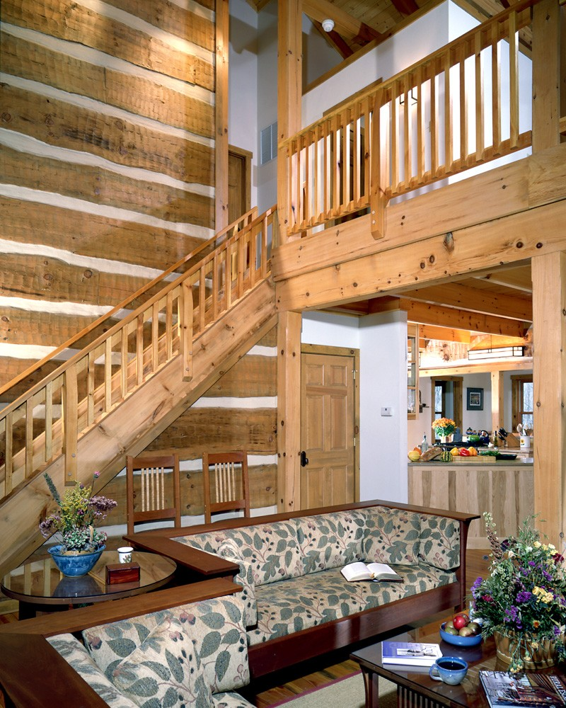 blowing rock timber frame home
