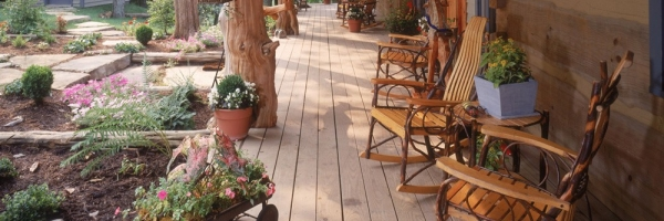 large posts for decks